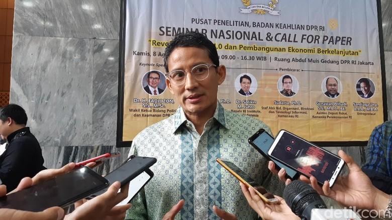 Dukung Kementerian Investasi, Sandi: Jangan Sampai Tumpang-Tindih dengan BKPM