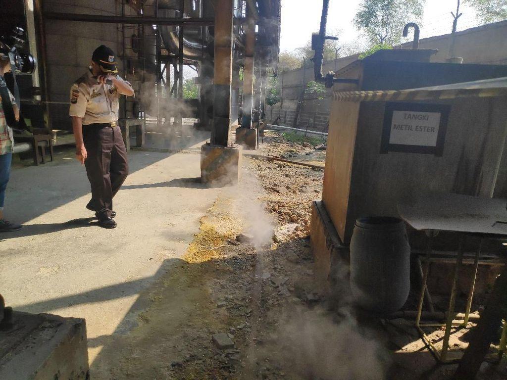 Sidak Cerobong Asap, Dinas LH DKI Beri Sanksi Pabrik di Jaktim