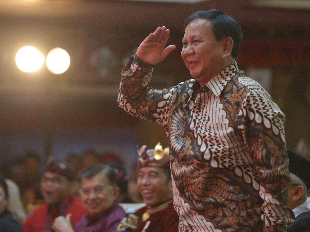 Spesialnya Pos Menhan Prabowo: Bisa Isi Kekosongan Presiden-Wapres