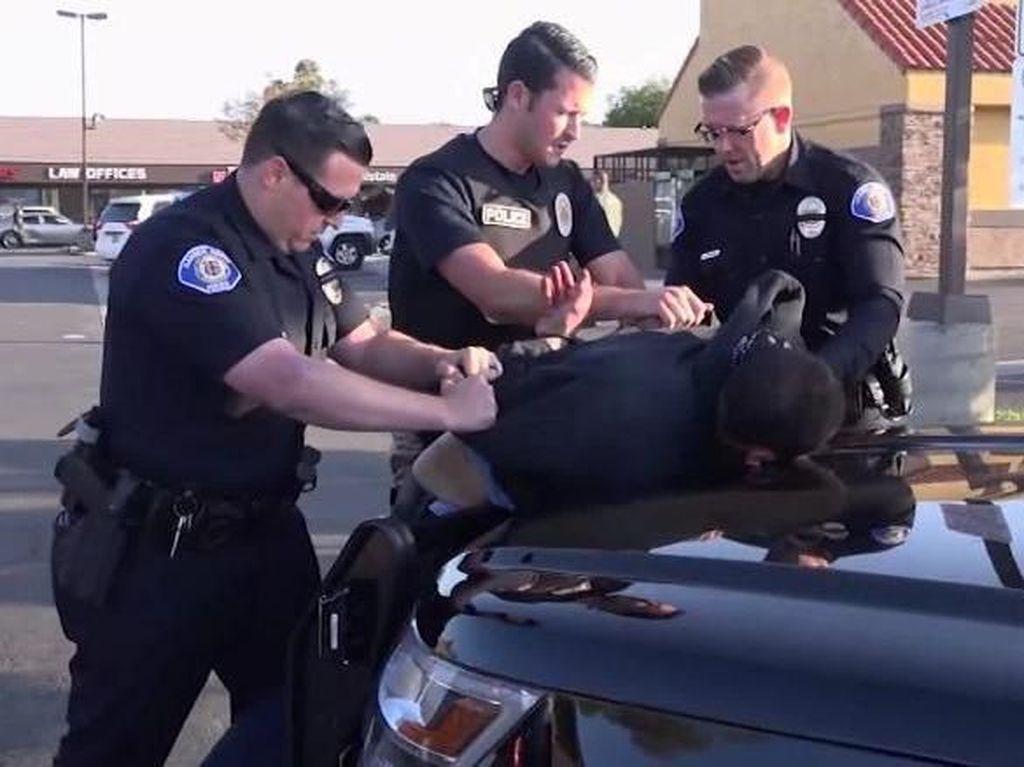 Dalangi Rentetan Perampokan dan Tikam Mati 4 Orang, Pria AS Ditangkap