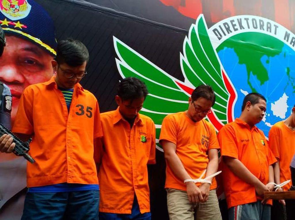 Penyelundup 10 Kg Sabu Disergap Saat Hendak Transaksi di Pondok Indah