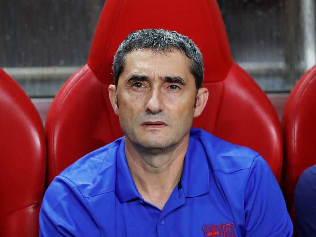 Valverde Akui Alami Masa Sulit di Barcelona