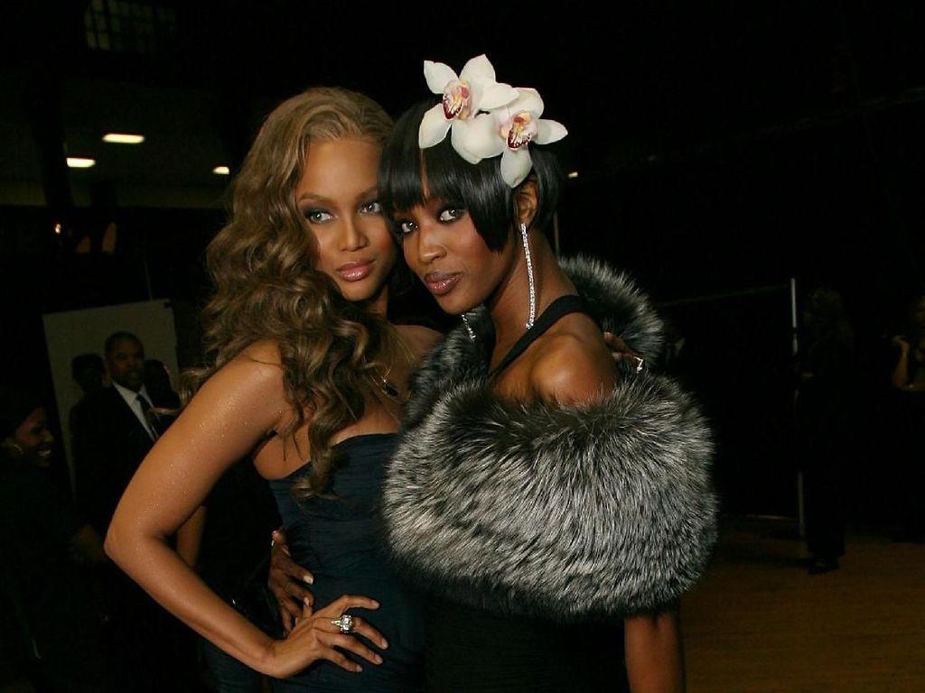 Tyra Banks Ungkap Sifat Asli Naomi Campbell Saat Awal Modeling