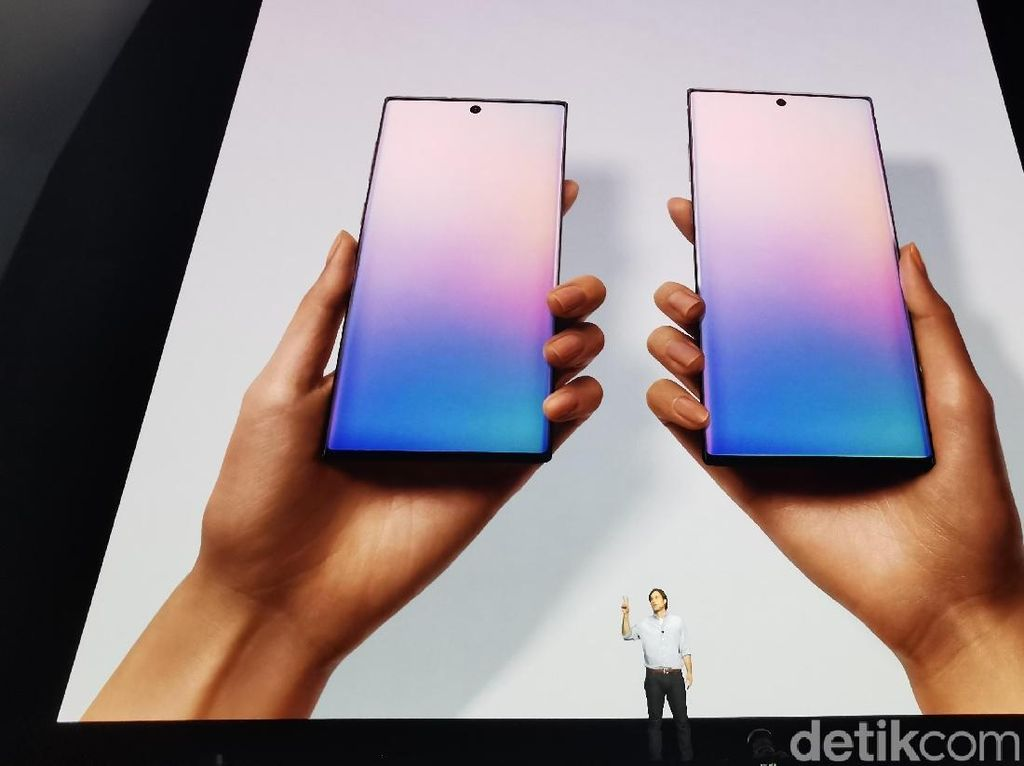 Perbandingan Galaxy Note 10, Galaxy Note 10+ dan Galaxy Note 9