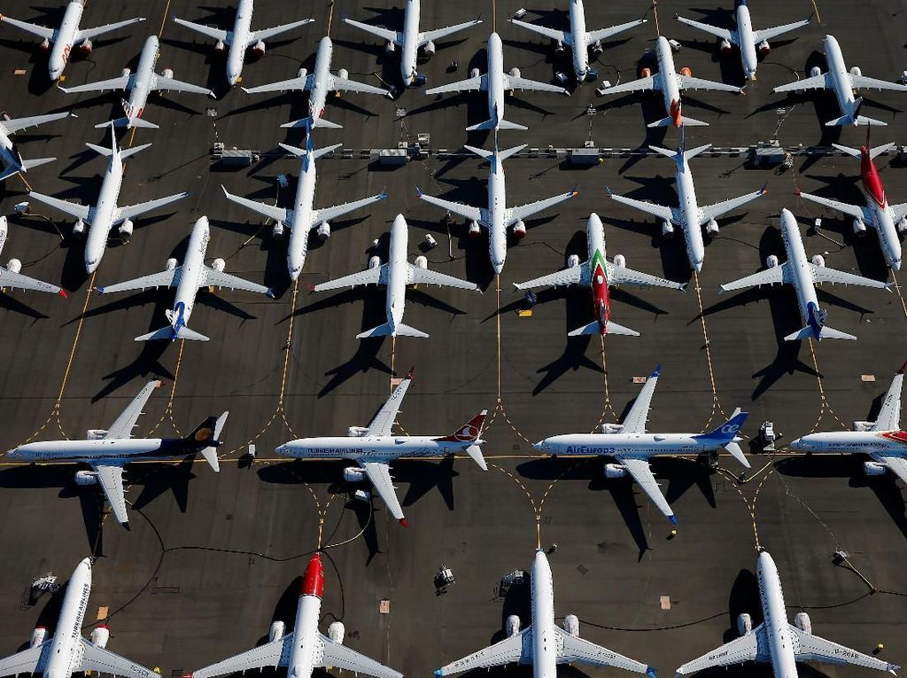 Masih Di-grounded, Boeing 737 MAX Milik Air Canada Bisa Mengudara