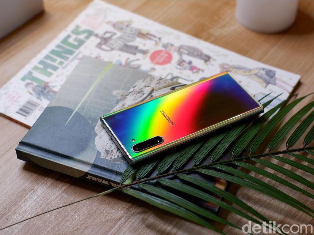 Bisa Tukar-Tambah, Antrean Pembeli Galaxy Note 10 Mengular