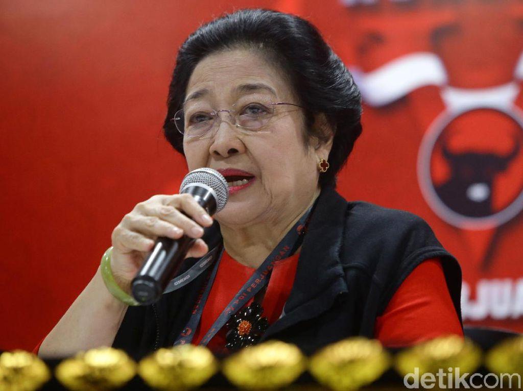 Megawati Kembali Pimpin PDIP