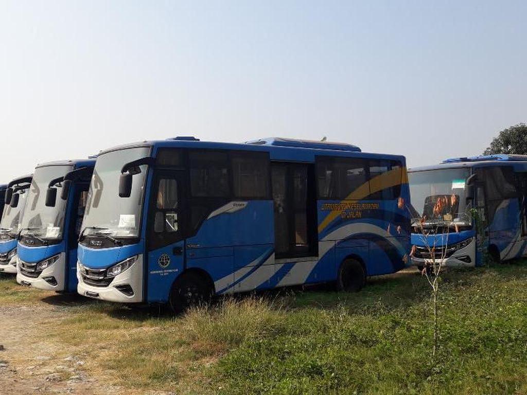 21 Bus BRT Calon Transpatriot Bekasi Masih Diregistrasi di Polisi
