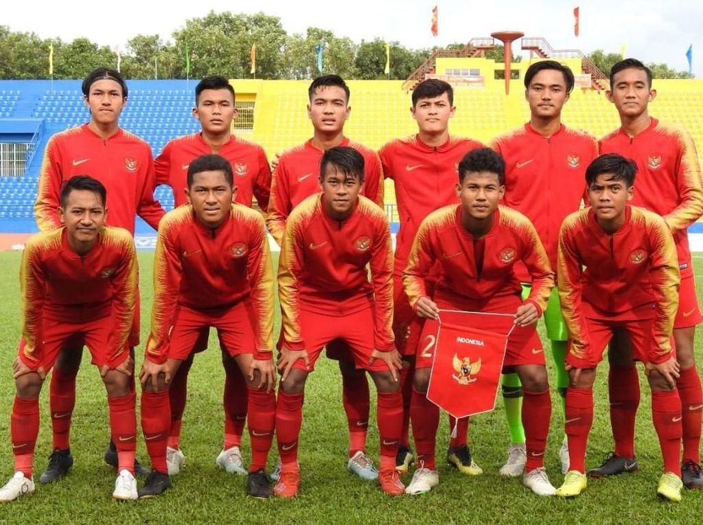 Piala AFF U-18: Indonesia Vs Laos Imbang di Babak Pertama