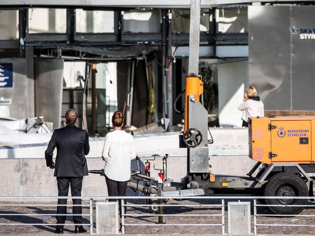 1 Orang Terluka Akibat Ledakan di Kantor Pajak Denmark