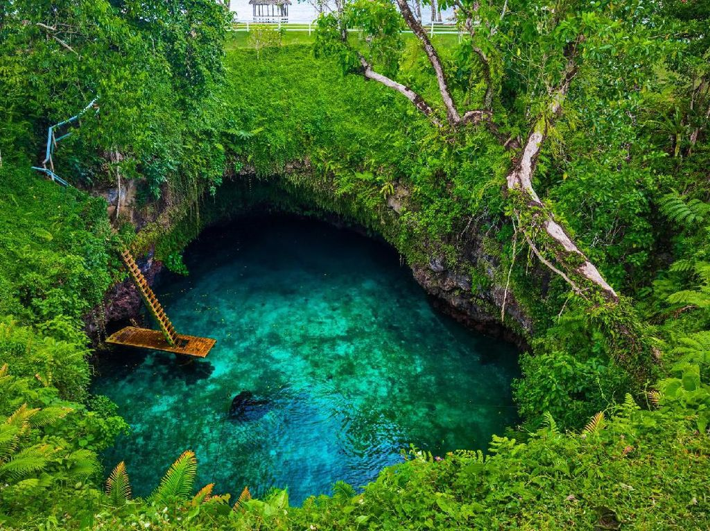 Foto: Negeri Samoa di Pertarungan Hobbs & Shaw
