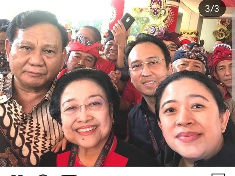 Prabowo-Mega Kian Akrab, Isyarat Gerindra Gabung Pemerintah?