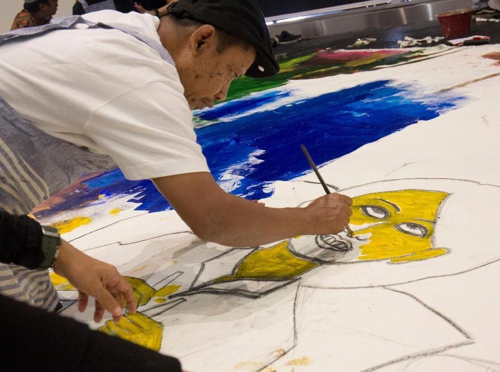 Outsider Artpreneur Gandeng 9 Perupa Berkebutuhan Khusus