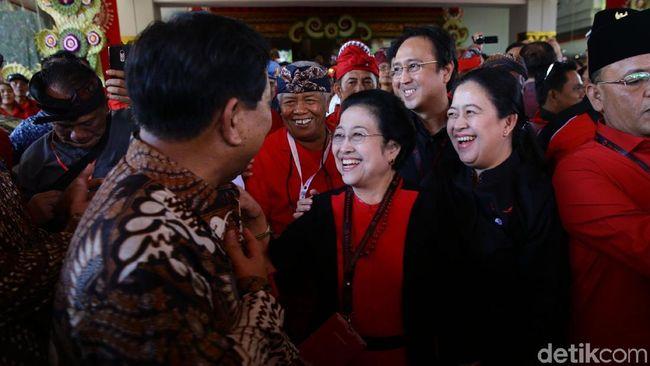 Tatam-Prananda-Puan Temani Megawati di Penganugerahan Profesor Kehormatan