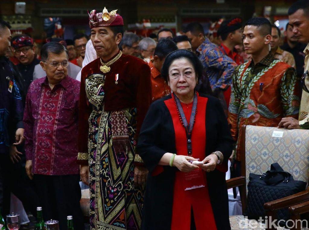 Video Sahut-sahutan Mega-Jokowi soal Jatah Menteri PDIP