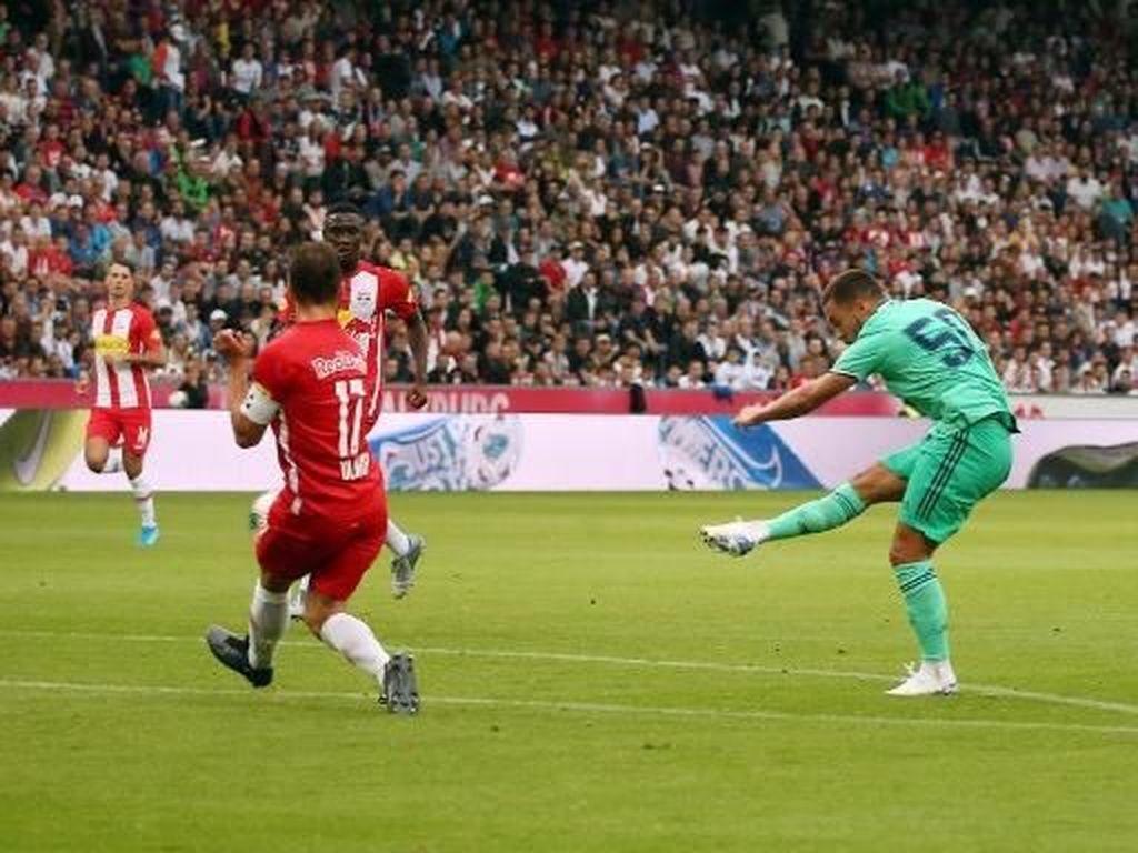 Akhirnya Hazard Bikin Gol untuk Real Madrid