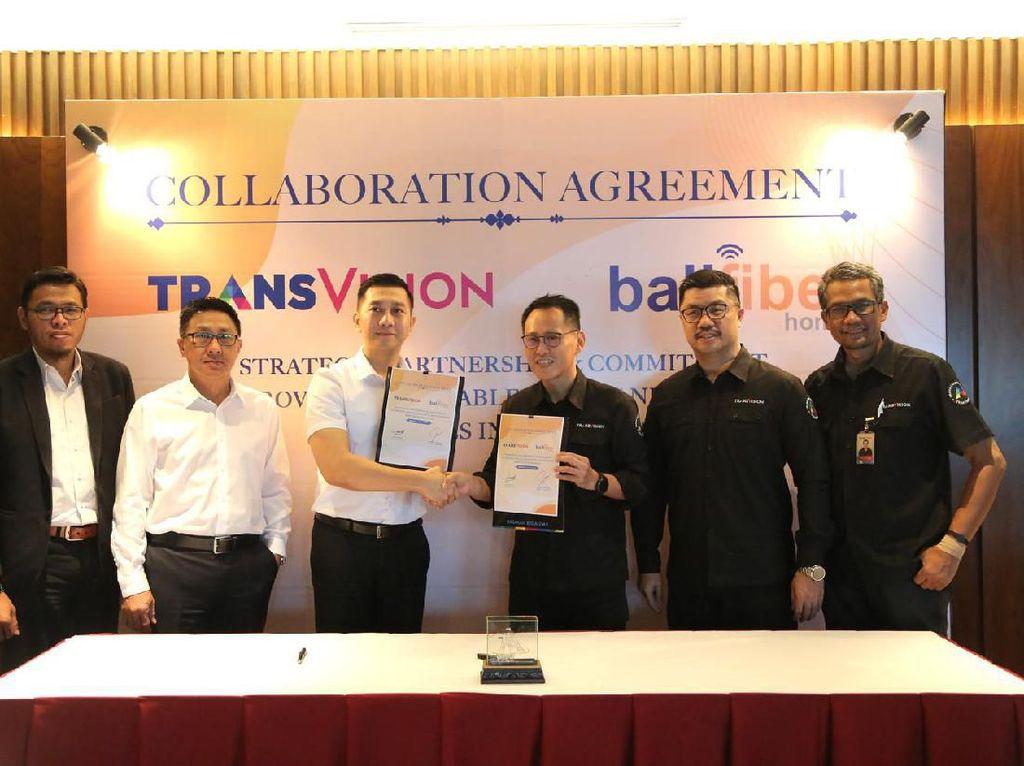 Transvision dan Balifiber Kolaborasi Hadirkan Paket Bundling