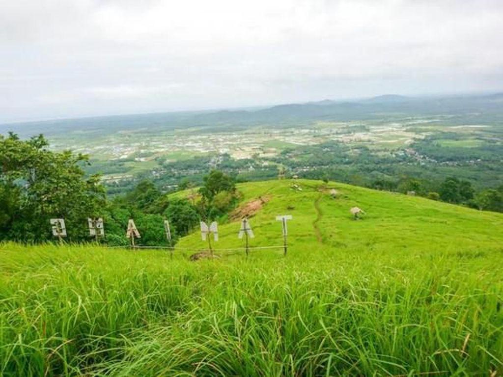 Pesona Alam Bukit Tamiang di Kalimantan