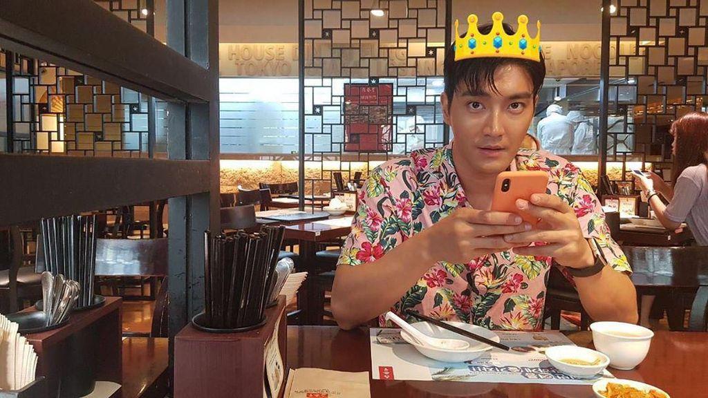 Bikin Salah Fokus! Ini Manisnya Siwon Saat Bersantap di Restoran
