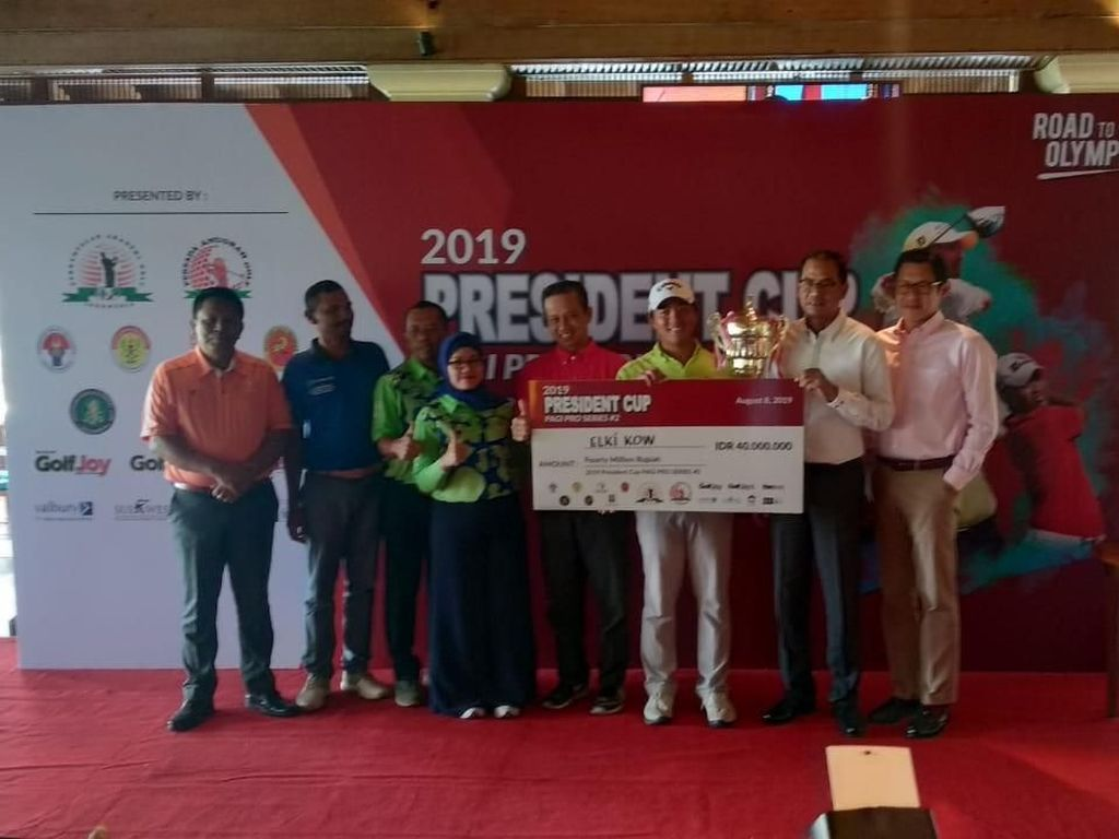 Pegolf Indonesia Berjaya di President Cup Seri Kedua