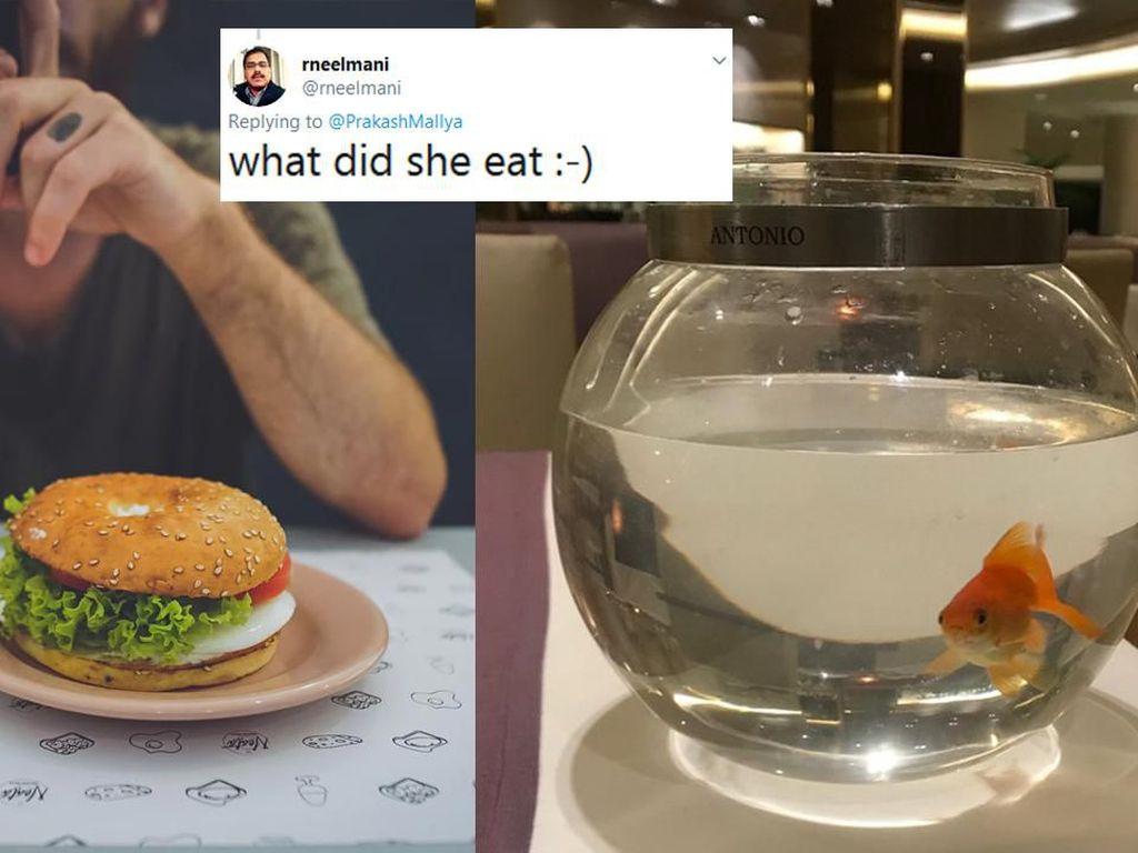 Makan Sendirian, Pengunjung Ini Dapat Kejutan Spesial Dari Restoran