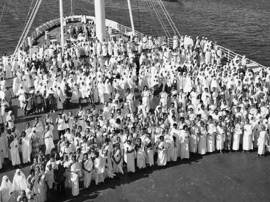Potret Perjalanan Ibadah Haji Umat Muslim Dunia di Masa Lalu