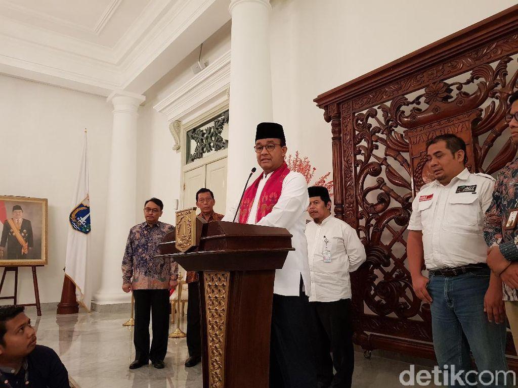 Anies Akan Bagikan Daging Kurban Siap Saji Racikan Chef Hotel Bintang 5
