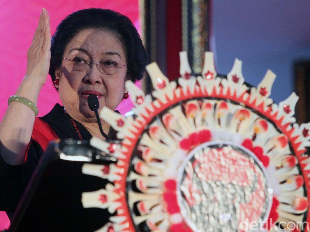Megawati Jelaskan Proses Regenerasi Partai: Dari Akar Rumput Ada Psikotes