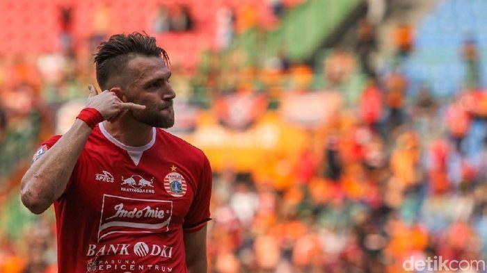 Marko Simic pede Persija segera tinggalkan zona degradasi Liga 1 2019. (Rifkianto Nugroho/detikSport)