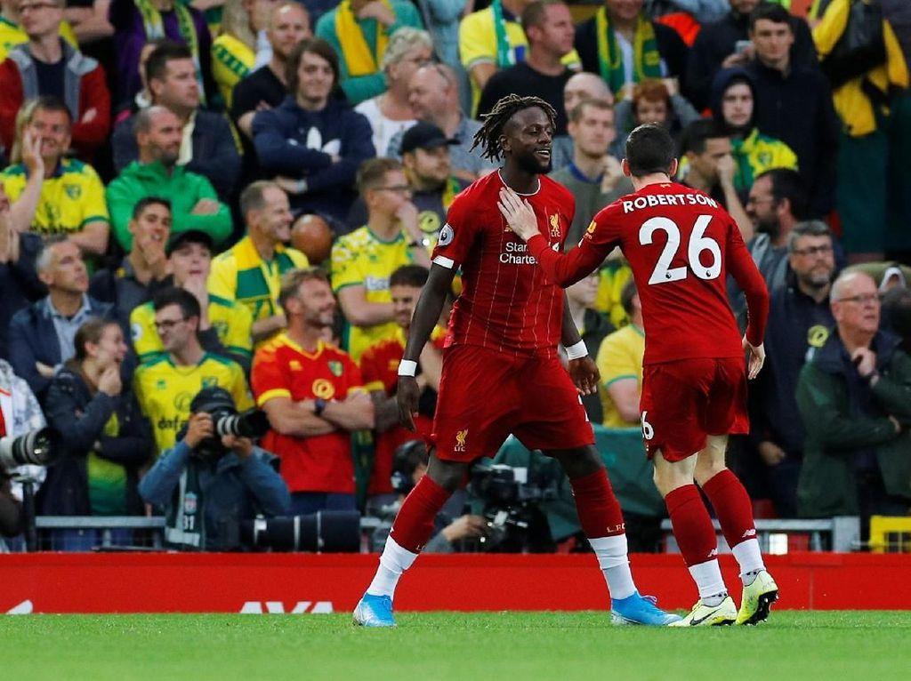 11 Data dan Fakta dari Kemenangan Liverpool atas Norwich di Pembuka Musim