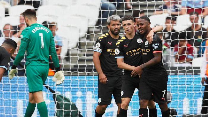 Menang 5-0 atas West Ham United, Manchester City bikin dua rekor baru (REUTERS/David Klein)