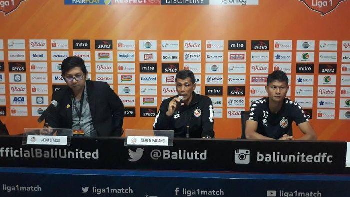 Semen Padang kalah telak di kandang Bali United 1-4. (Foto: Jeka Kampai)