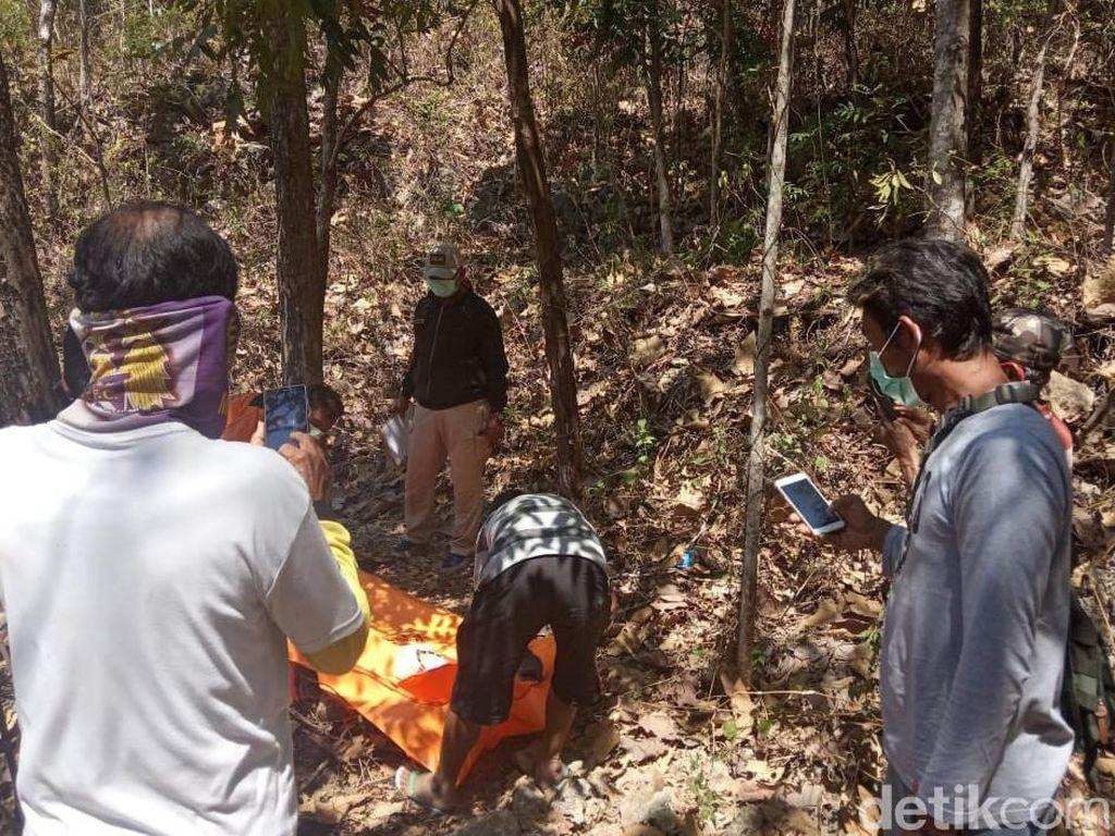 Mayat Pria Misterius Ditemukan di Hutan Jati Wonogiri