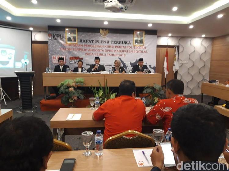 PDIP Raih 35 Kursi DPRD Boyolali, Kursi PAN dan Demokrat Hilang
