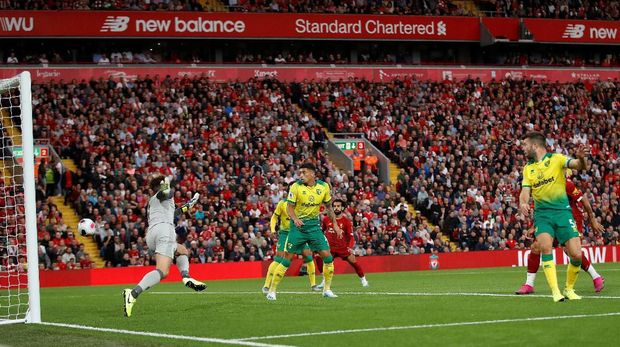 Hasil Liverpool Vs Norwich: The Reds Menang 4-1