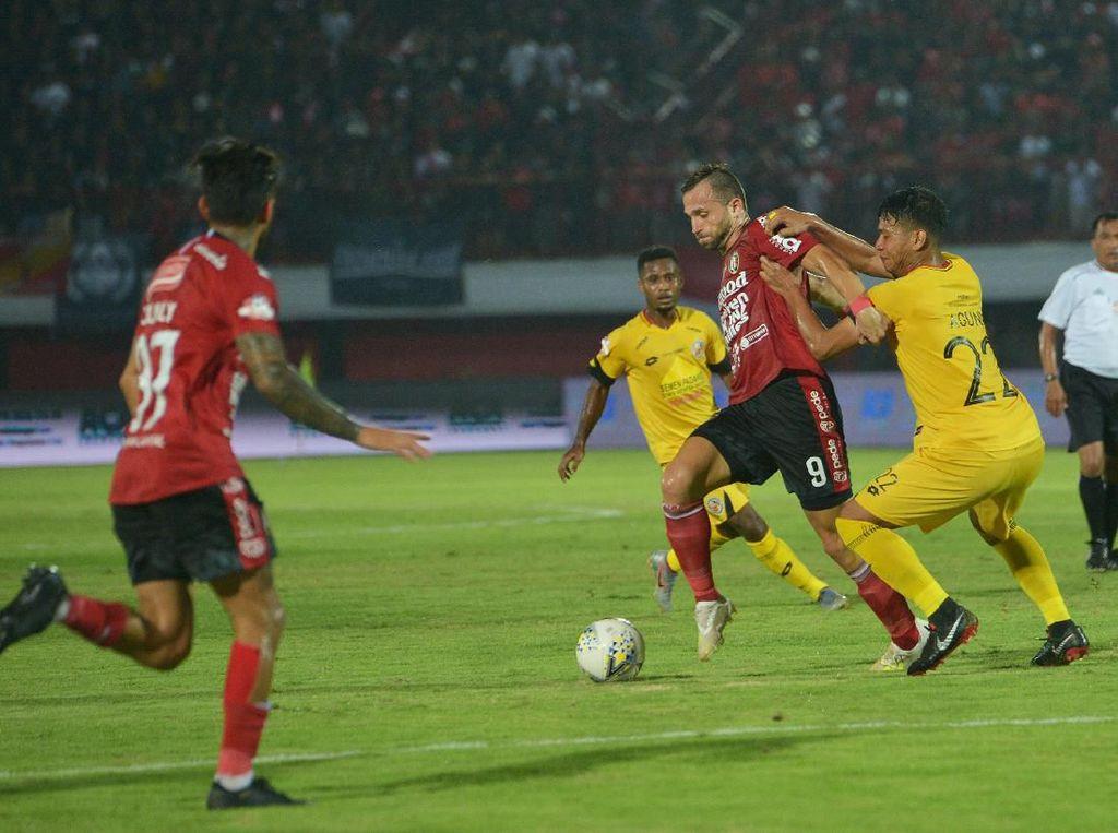 Bali United Vs Semen Padang: Serdadu Tridatu Menang 4-1