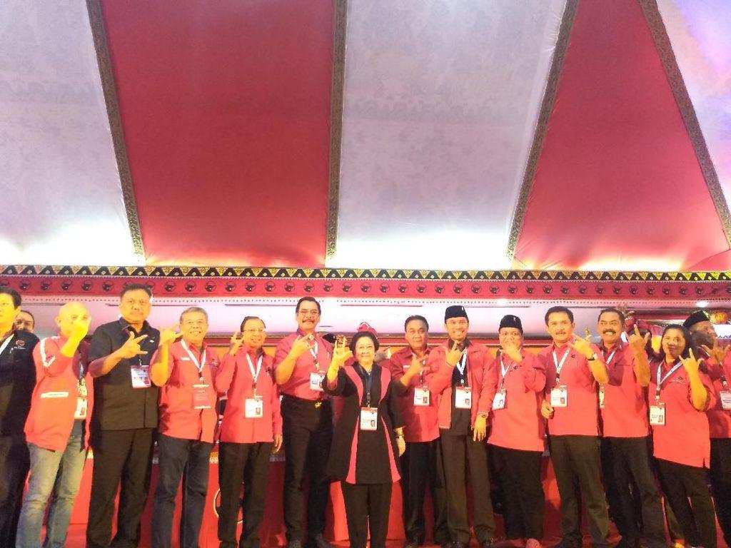 Tutup Kongres V PDIP, Megawati: Jangan Berpuas Diri