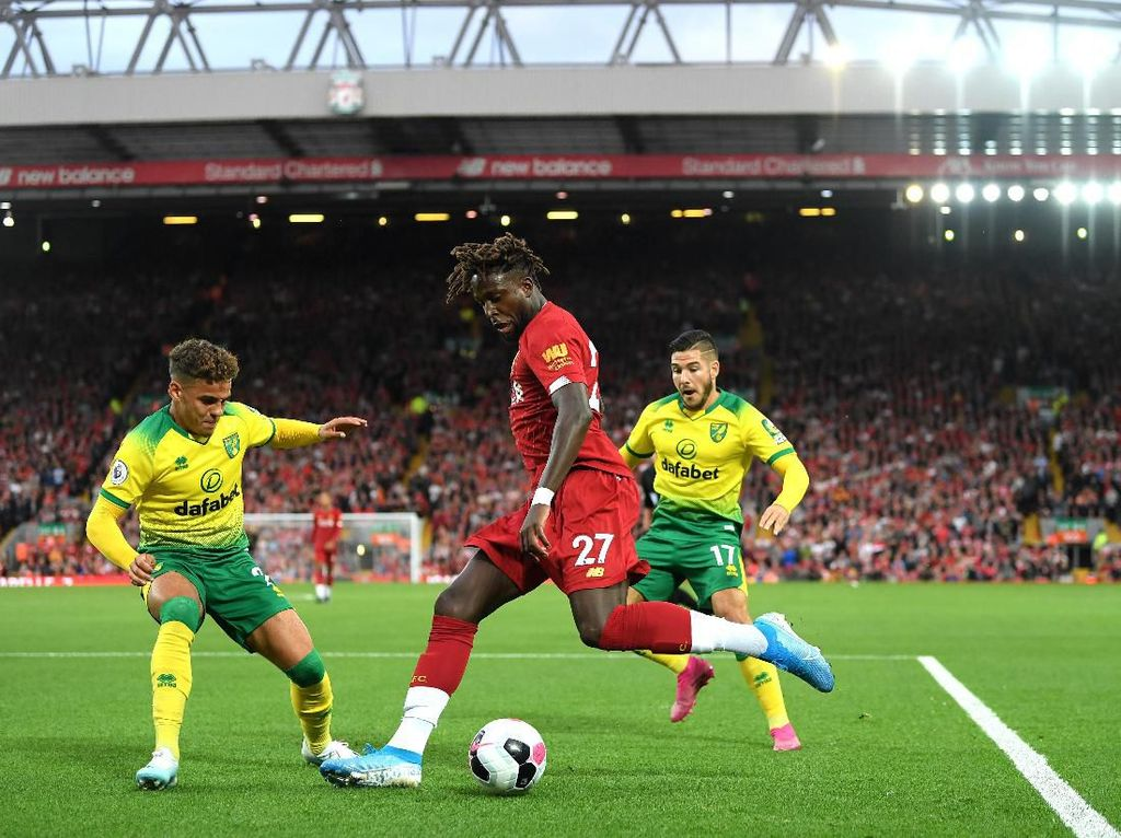 Link Live Streaming Norwich vs Liverpool