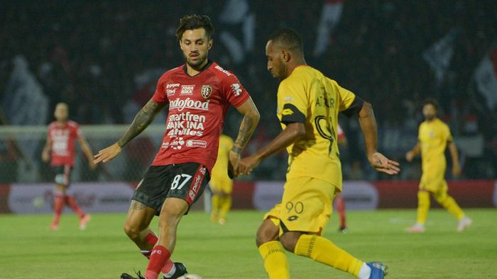 Bali United terus pepet Tira Persikabo di klasemen Liga 1 2019 (Nyoman Budhiana/Antara Foto)