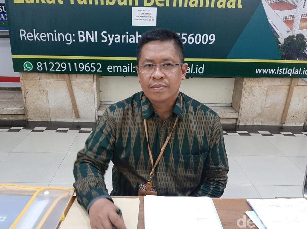 Istiqlal Siapkan Penerjemah-Saf Khusus Jemaah Disabilitas saat Salat Idul Adha
