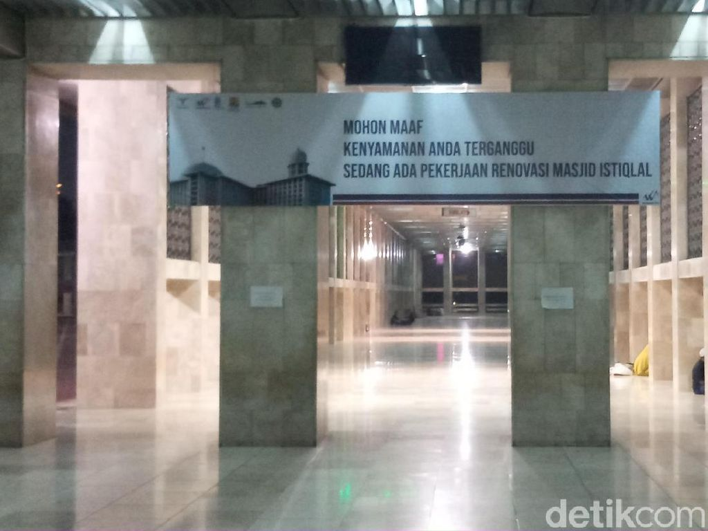 Meski Sedang Renovasi, Istiqlal Siap Tampung 150 Ribu Jemaah Salat Idul Adha