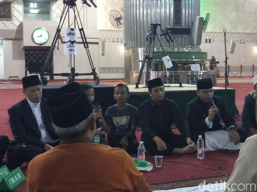 Ustaz Yusuf Mansur Pimpin Takbiran Idul Adha di Masjid Istiqlal