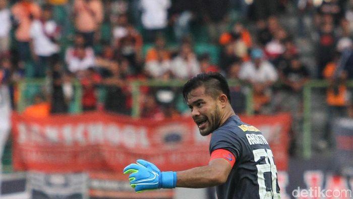 Andritany Ardhiyasa merespons kritik The Jakmania kepada pemain-pemain Persija Jakarta. (Rifkianto Nugroho/detikSport)