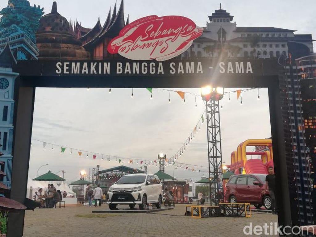 Touring Avanza-Veloz di Medan Tanpa Klakson