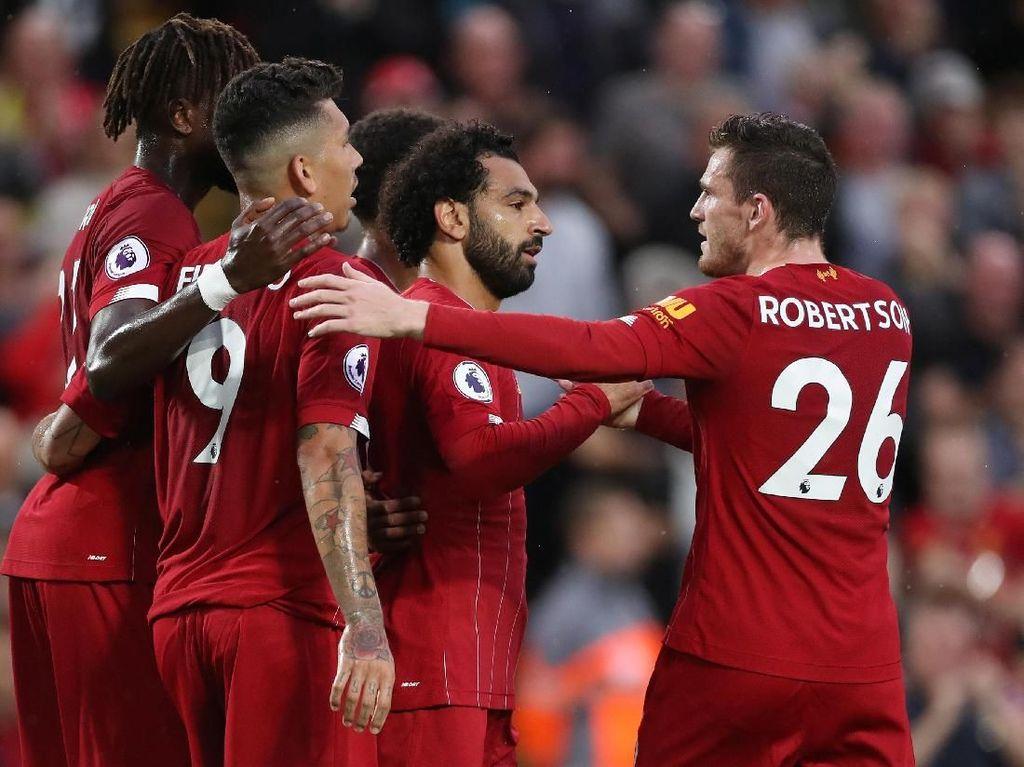 Babak I, Liverpool Ungguli Norwich 4-0