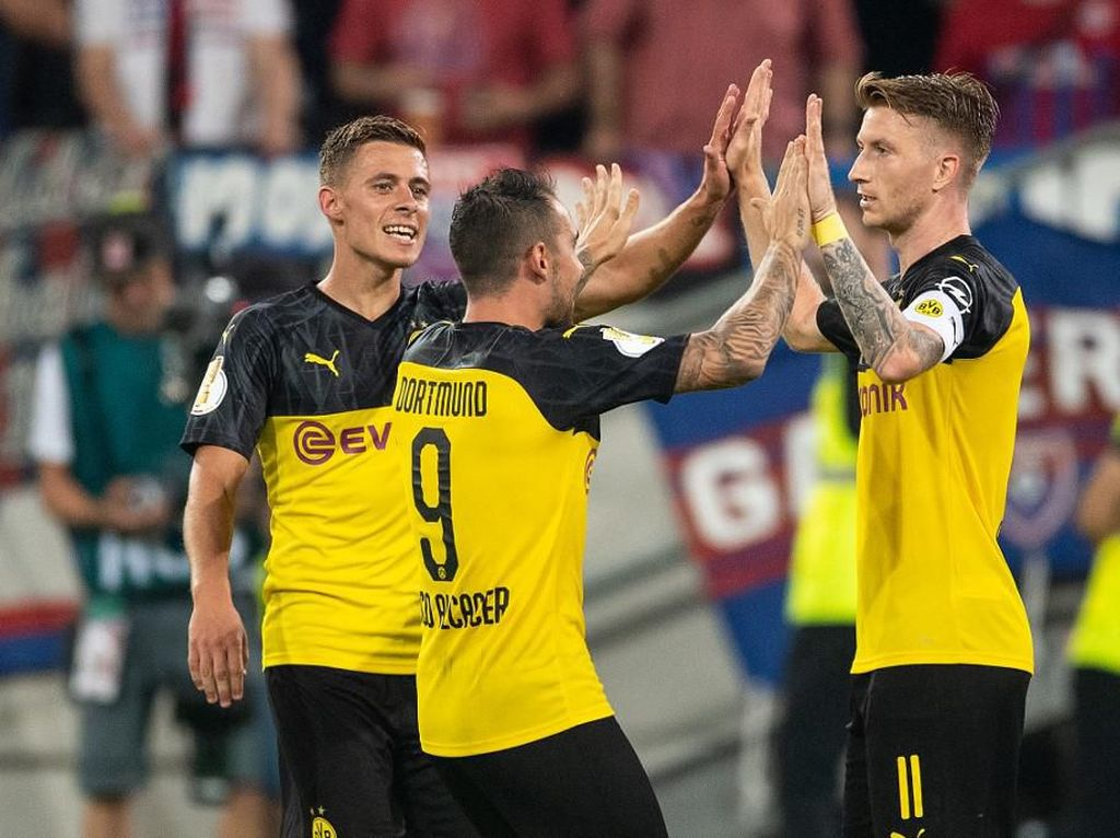 Dortmund Lewati Babak Pertama DFB-Pokal