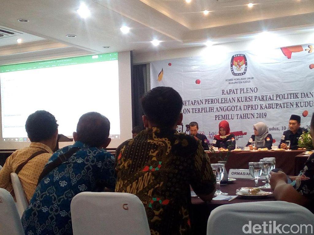 Pleno KPU Kudus Selesai, PDI Perjuangan Raih Kursi Terbanyak