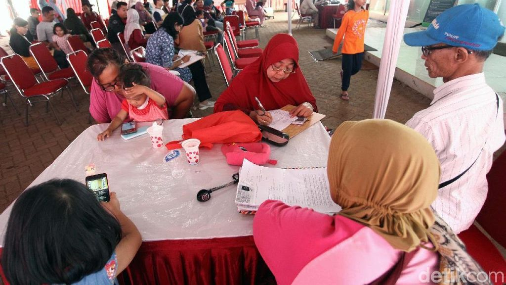 Warga Serbu Pendaftaran Rumah DP Rp 0