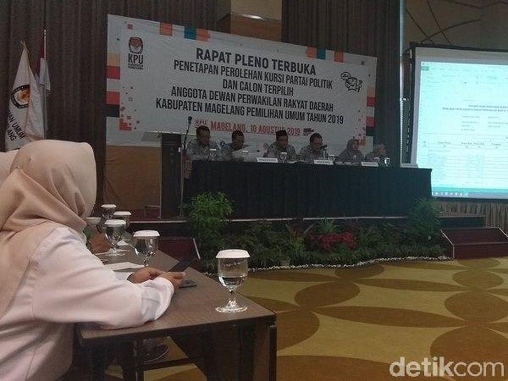 Mayoritas Anggota DPRD Kabupaten Magelang Terpilih Muka Lama