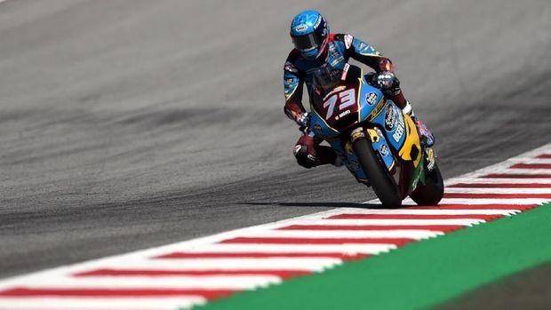Alex Marquez berstatus juara dunia Moto2 2019.